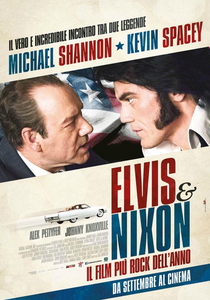 ELVIS & NIXON - Film al cinema