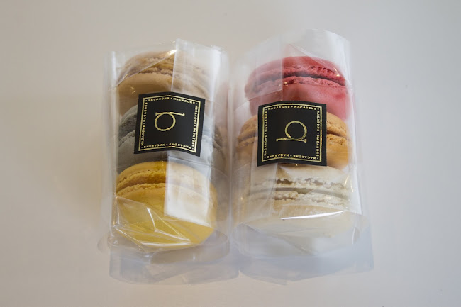 Bite Macarons packaging