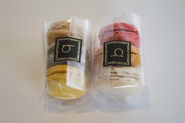 Bite Macarons packaging