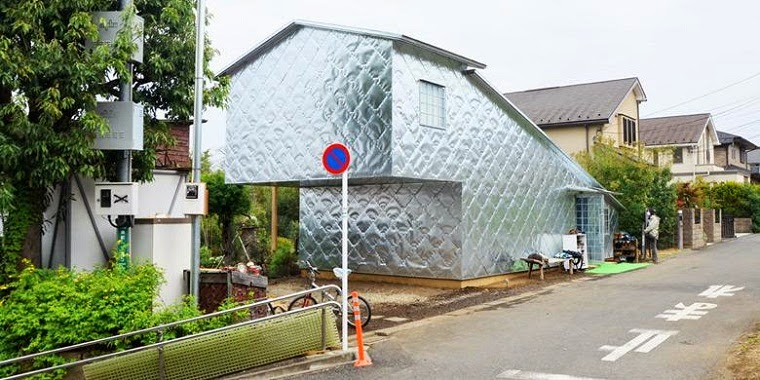 Soft-Hard Aluminium House