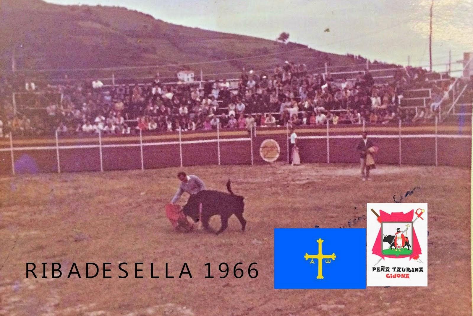 RIBADESELLA TOROS 1966