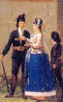 LA MONTERA EN LA PINTURA: 1762-1834