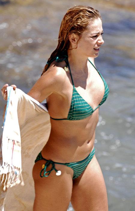 Paulina rubio bikini remarkable, very