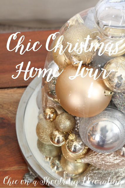 Chic Christmas Decor, Chic on a Shoestring Decorating Blog