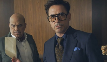ROBERT DOWNEY JR CON HTC