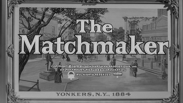 an analysis of the elements in the design of the play the matchmaker by thornton wilder the scenic c