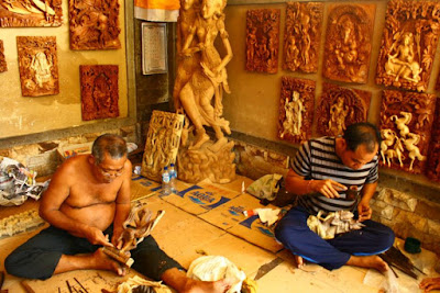Sculpture Class at Ubud Bali