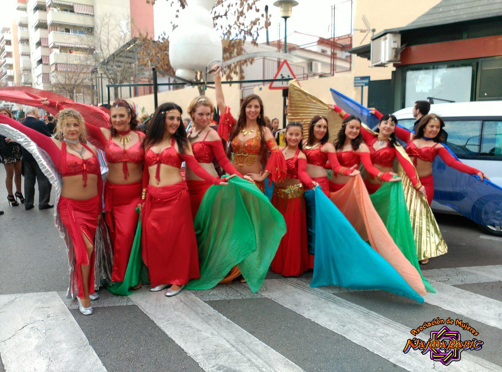 2016 Cabalgata de Reyes Distrito 6