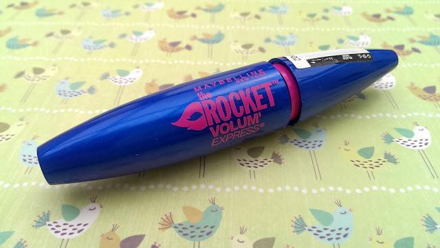 A photo of the Maybelline rocket volum mascara