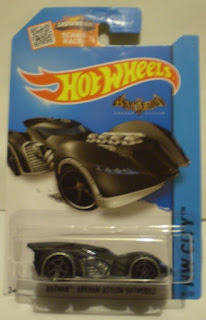 Hot Wheels HW City 2015 Batman Arkham Asylum Batmobile still in package