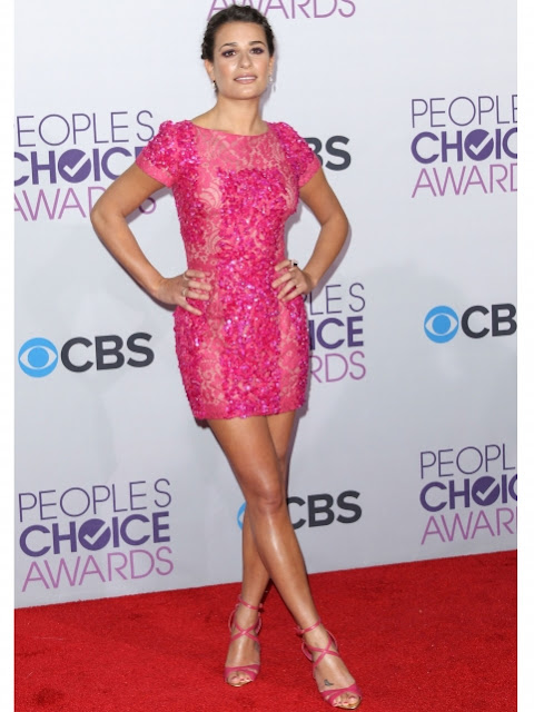 Lea Michele at The People's Choice Awards 2013