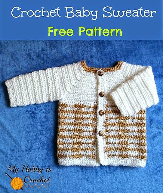 Crochet Baby Jacket Tutorial : Marumin Crochet: RAVELRY.COM FOR GREAT FREE CROCHET ...