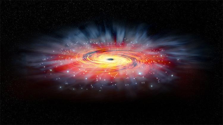 Qué sucede cuando algo cae en un agujero negro.