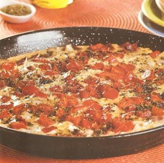 Pizza brotinho de arroz