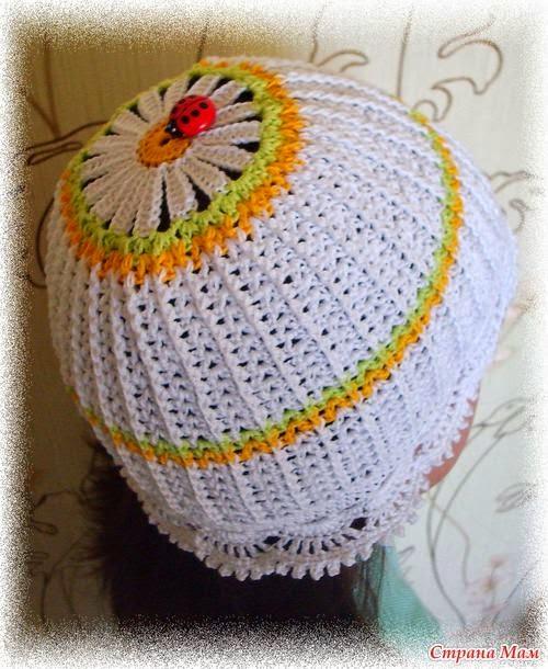 Papatyalı Çiçek Şapka Yapımı