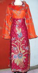 Baju batik wanita murah