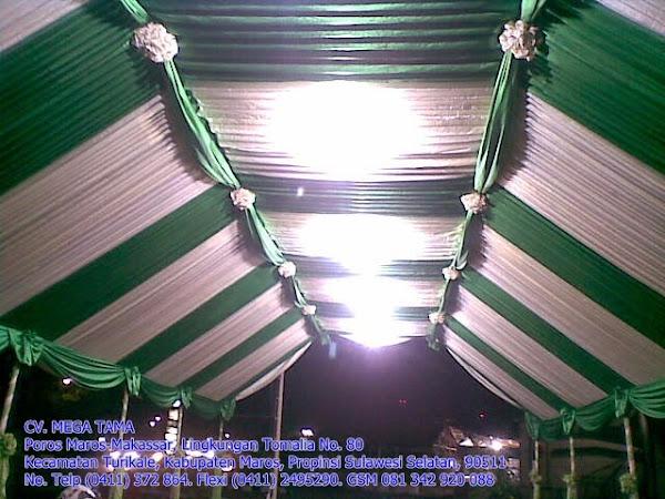 Plafond Hijau Putih