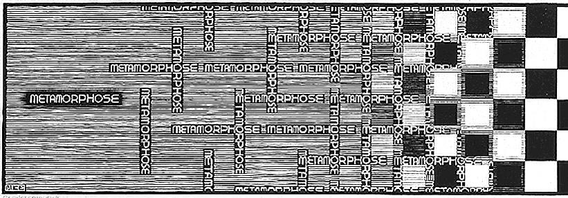 M c escher for Escher metamorfosi