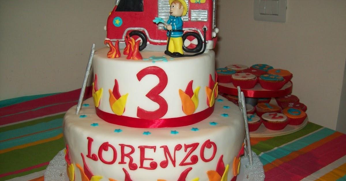 Le torte di maria torta sam il pompiere