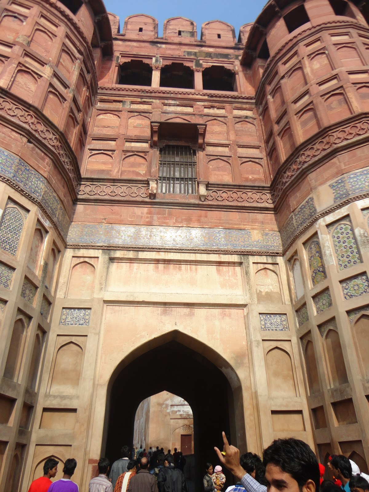 Third gate of Agra Fort Agra