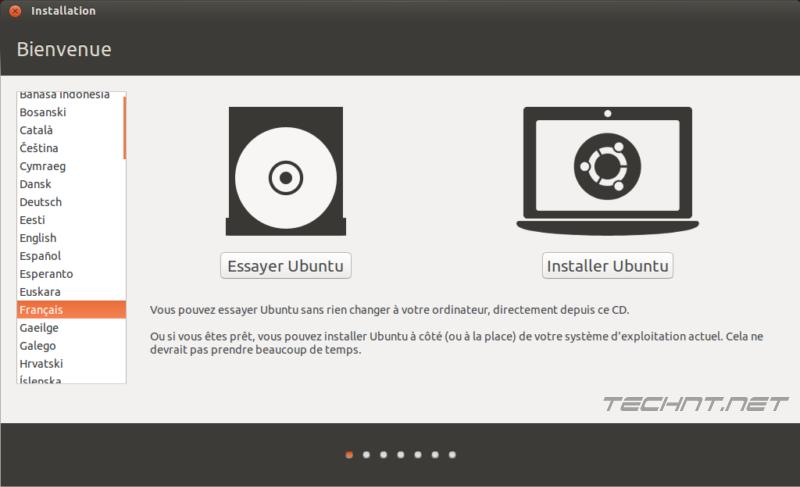 تحميل وتثبيت نظام ubuntu 14.04 مع ويندوز 7 على الكمبيوتر. التقنية نت - technt.net