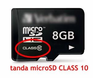 MicroSD Class 10