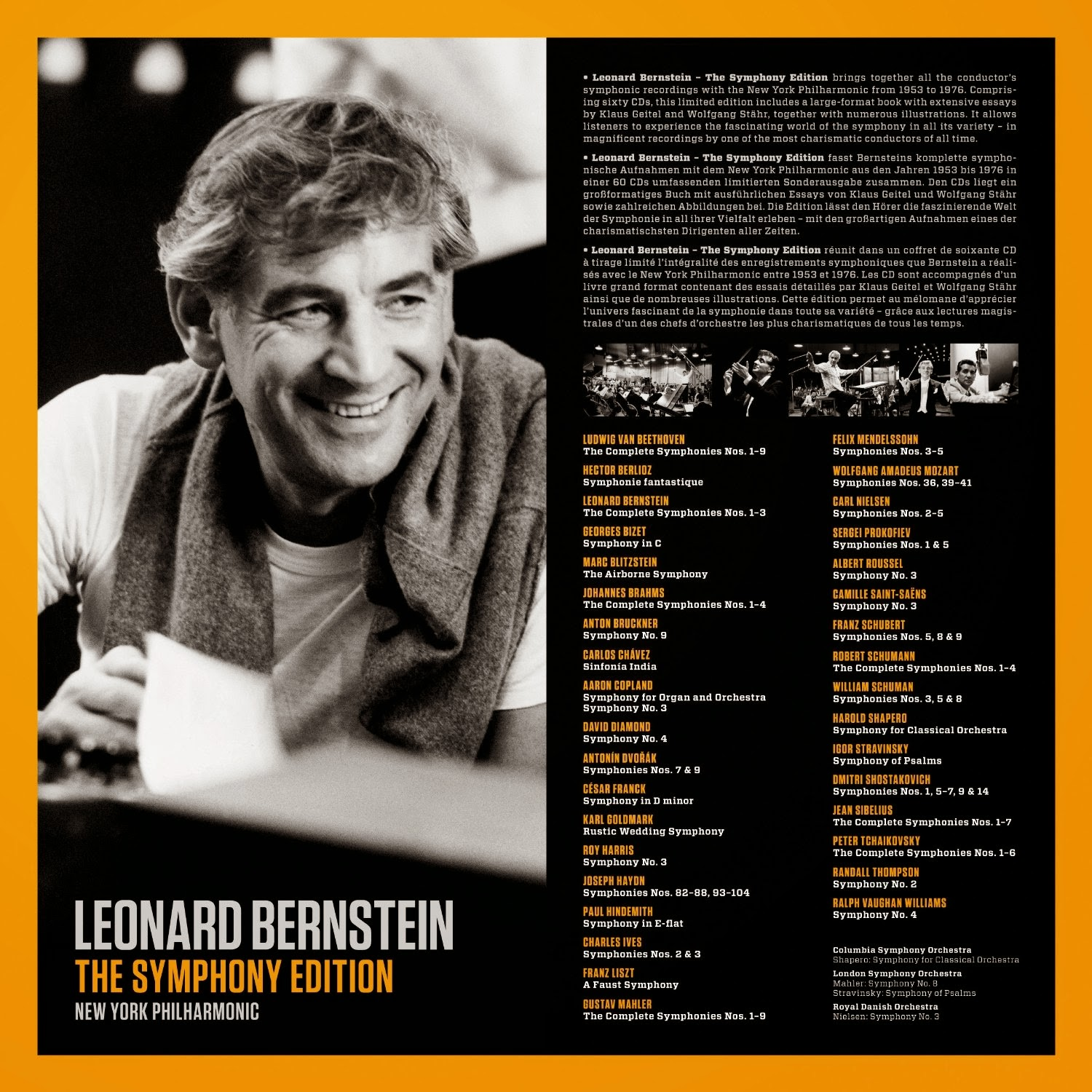 the life and works of leonard bernstein Sometimes when you watch bernstein conduct  it's his own involvement and enthusiasm at that moment, his own kind of oneness with the work, archivist barbara haws says (paul de hueck/courtesy of the leonard bernstein office, inc.