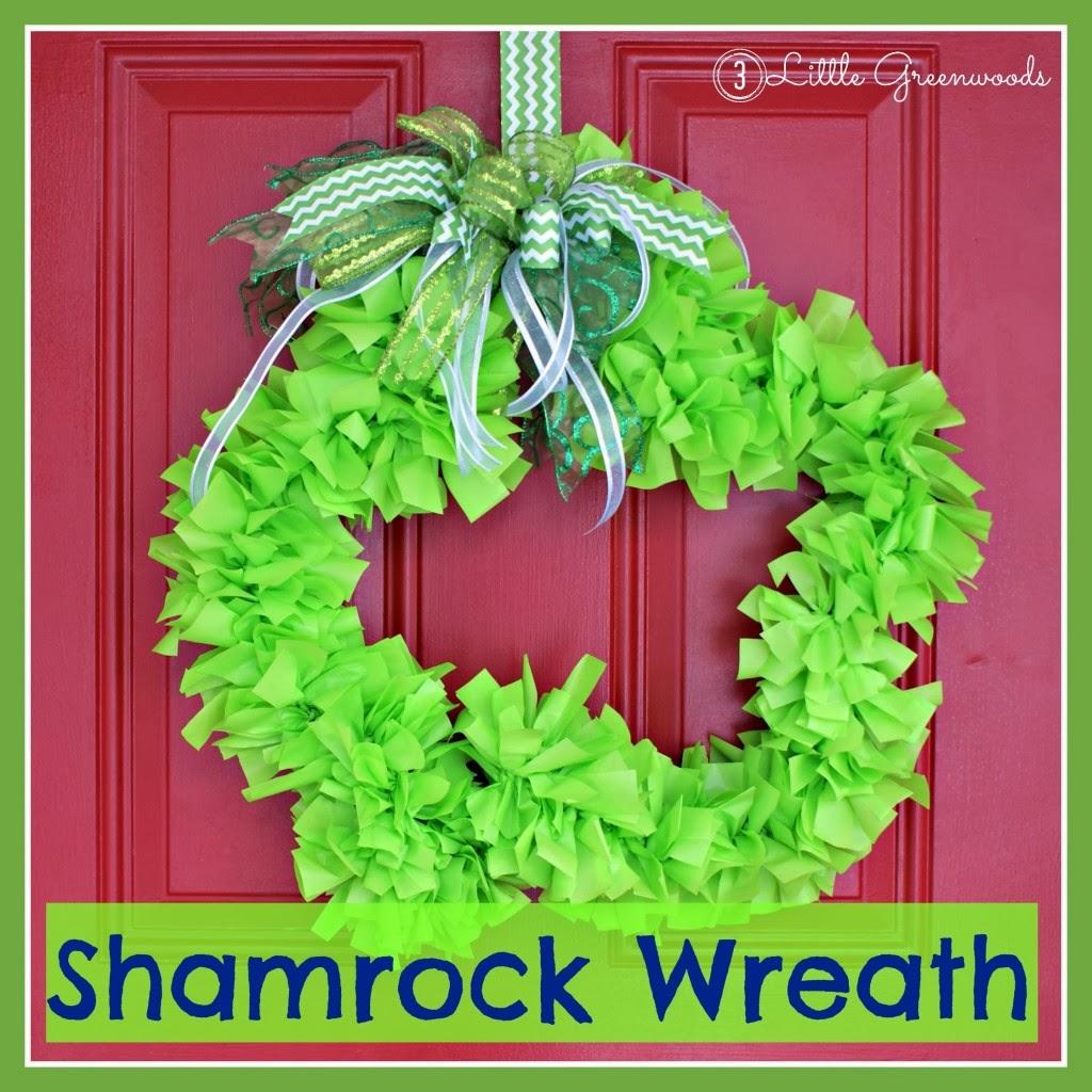 shamrock-wreath