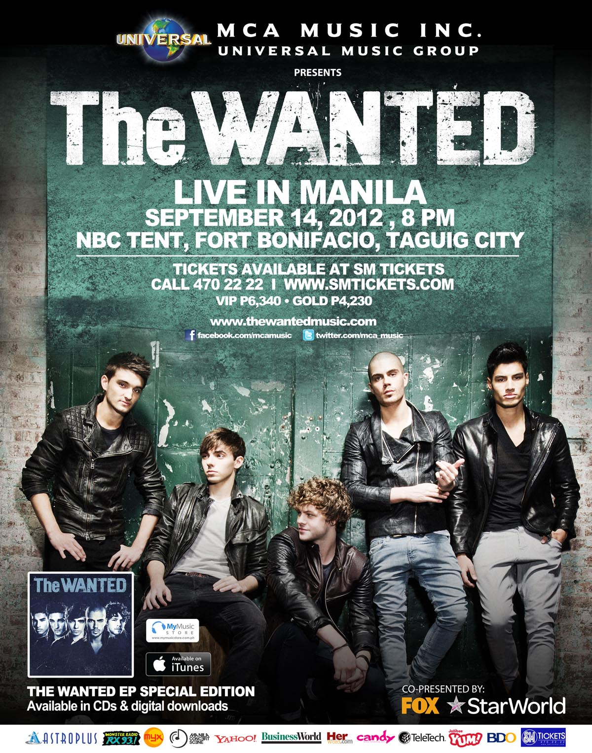Mcs contest meet and greet passes for the wanted live in manila 1 post a picture of you with your favorite the wanted memorabilia it can be posters pictures a wanted cd anything related to the wanted m4hsunfo