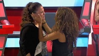 Estela Amaya cuarto puesto la voz 2013