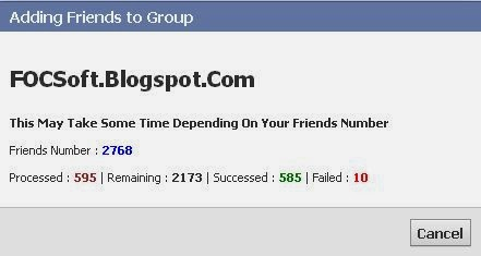 How To Add All Friends In Group (Super Fast Way) 2014 - FOCSoft