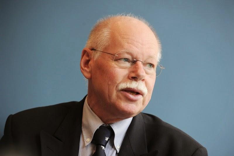 Ulrich Mäurer: Nicht Abschreckung der  Verzweifelung entgegensetzen. Foto: Schlie