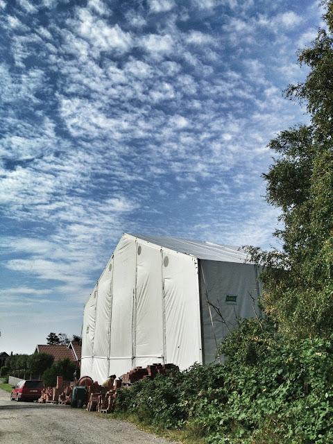 väderskydd villa bygge
