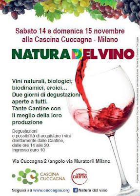 La Natura del vino 14 e 15 Novembre Milano