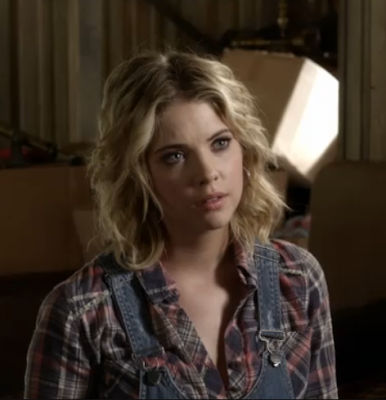 Hanna's Free People Park Ranger Button Up Pretty Little Liars Season 3, Episode 18: &#8220;Dead to Me&quot;