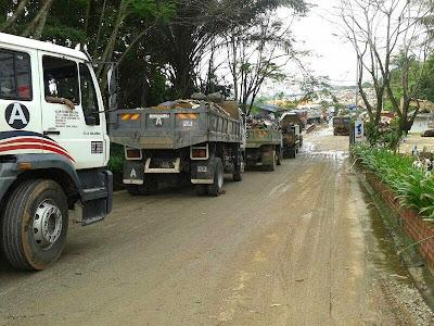 Tapak Pelupusan Sampah, Jalan Jabor-Jerangau