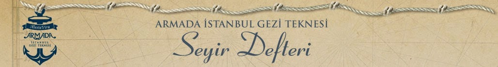 Armada Gezi Teknesi Seyir Defteri