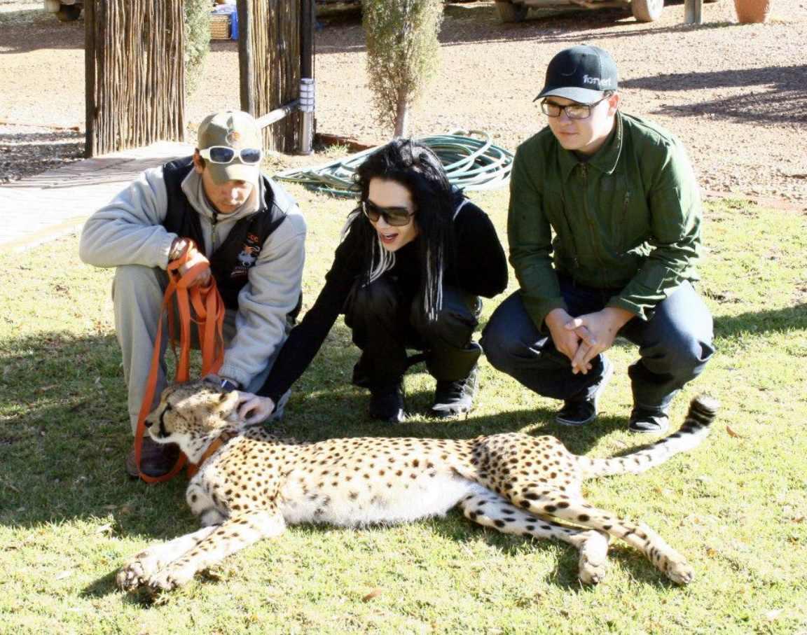 Fotos Exclusivas da Banda no Ibiza Safari Lodge 1