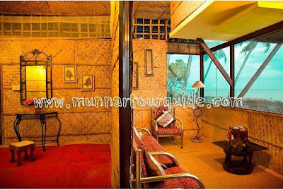 luxury beach villa in kerala, beachside cottage in alleppey