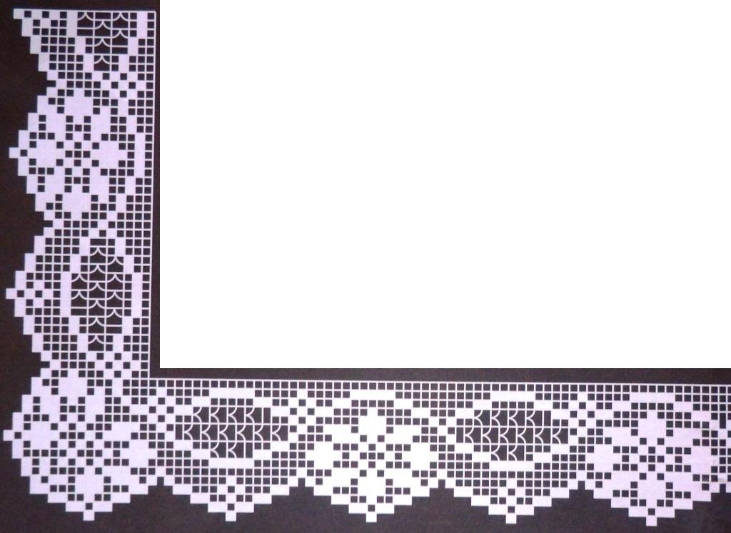 Crochet em revista abril 2013 for Bordi per lenzuola