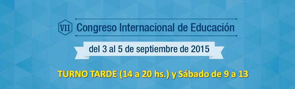 VII Congreso Internacional de Educación