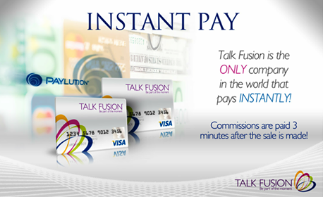 Instant Pay on a Global Plan