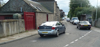 Camphill Road Broughty Ferry at the bend in the road close to the junction with Dick Street