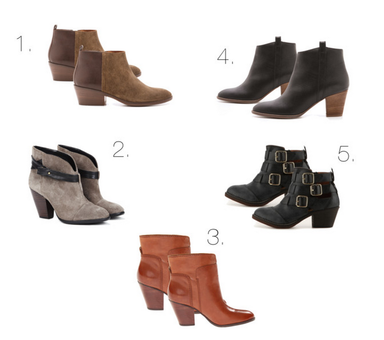 work your closet: Craving: Ankle Boots