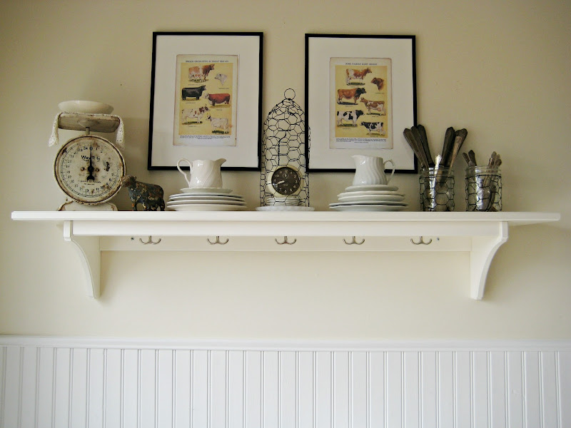 Decorative Kitchen Wall Shelf