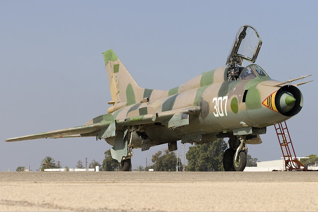 Libyan Air Force Sukhoi Su-22M3 Fitter