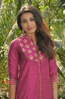 Kavya Shetty Latest Pictures in Salwar Kameez at Legend Pictures Movie Opening ~ Celebs Next
