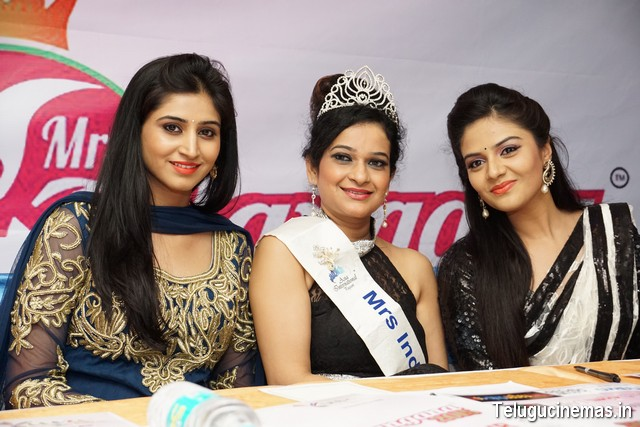 curtain raiser of mrs-telangana-2o15