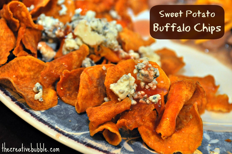 The Creative Bubble: Sweet Potato Buffalo Chips