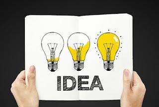 cara mencari ide posting